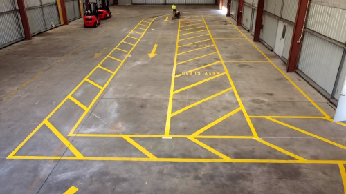 Warehouse/ Commercial Linemarking