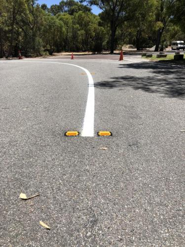 Barrier Line / Raised Pavement Markers