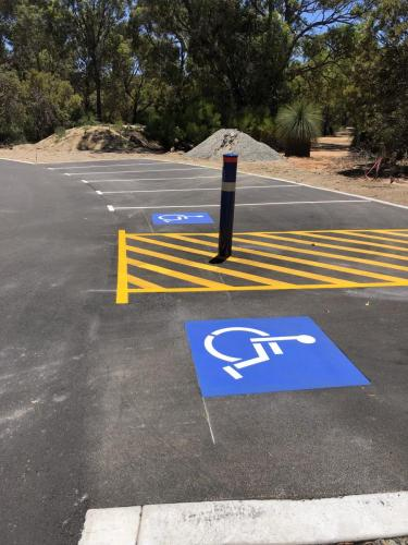 Shared Zones and Car Park Line Marking