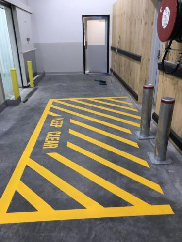 Delineation Line Marking Perth WA,Karrinyup Shopping centre